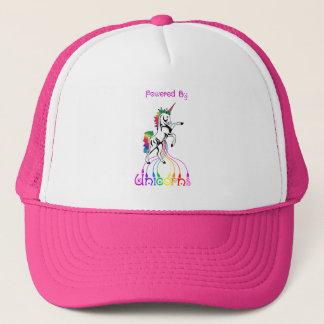 Boné Psto pelo chapéu dos unicórnios