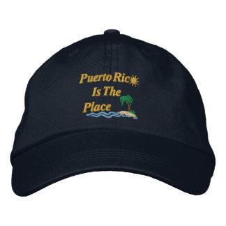 Boné Puerto Rico é o lugar