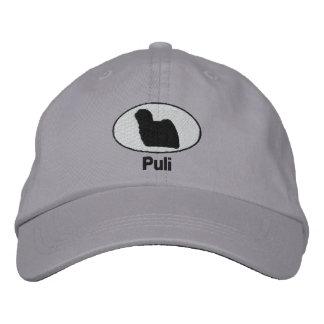 Boné Puli bordou o chapéu