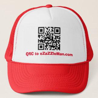 Boné QRC a eZaZZleMan.com - chapéu/boné da propaganda