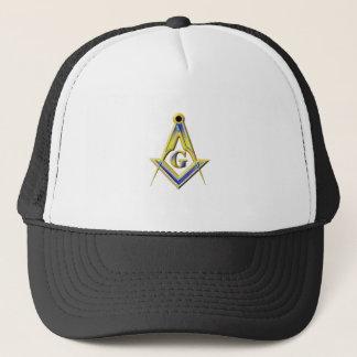 Boné Quadrado & compassos do Freemason
