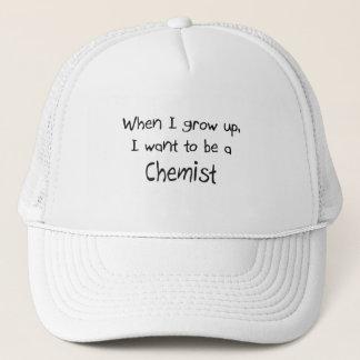 Boné Quando eu me cresço acima queira ser um químico