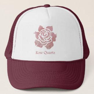 Boné Quartzo cor-de-rosa