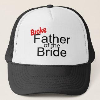 Boné Quebrou o pai da noiva
