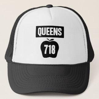 Boné Queens 718 cortado de Apple & da bandeira grandes,