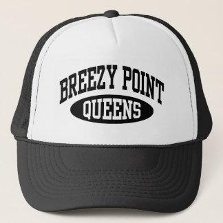 Boné Queens ventoso do ponto
