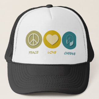 Boné Queijo do amor da paz