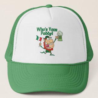 Boné Quem é seu Irlandês da almofada