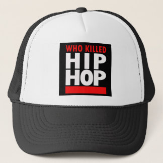 Boné Quem matou Hip Hop