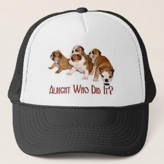 Boné Quem o fez chapéu
