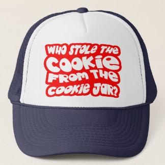 Boné Quem roubou o biscoito do frasco de biscoito?