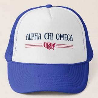 Boné Qui alfa Omega - EUA