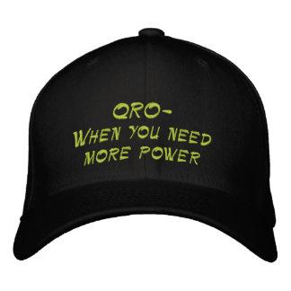 Boné Rádio amador QRO mais chapéu do poder