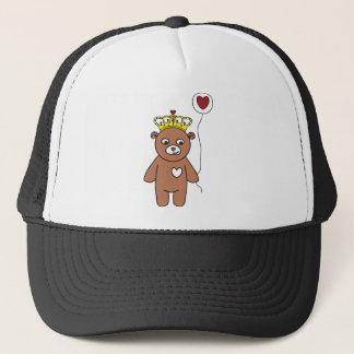 Boné rainha do urso de ursinho