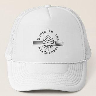 Boné Raizes no chapéu do branco da região selvagem