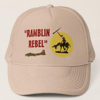 "BONÉ ""RAMBLIN, REBELDE """