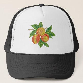 Boné ramo do pêssego, imitação do bordado