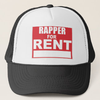 Boné Rapper para o aluguel