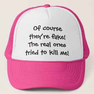 """Boné Reais do """"chapéu camionista """""""