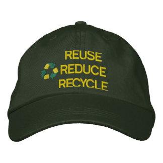Boné Recicl o chapéu bordado