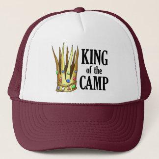 Boné Rei do chapéu do acampamento