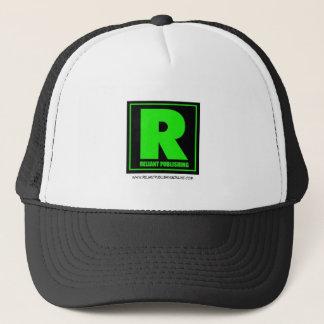 Boné Reliant que publica o ballcap do logotipo