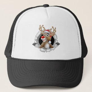 Boné Rena do chapéu do papai noel que quebra através do