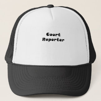 Boné Repórter de corte