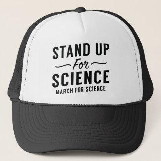 Boné Represente acima a ciência