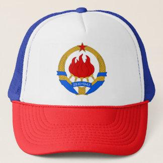 Boné República federal socialista do emblema de