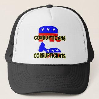 Boné Republicano Democrata de Corrupticans