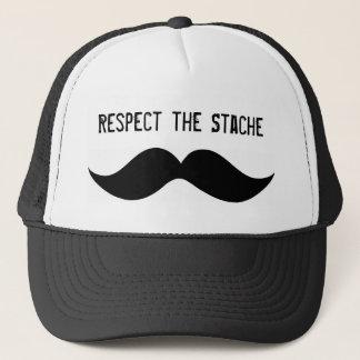 Boné Respeite o chapéu de Stache
