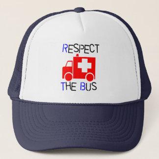 Boné Respeite o ônibus
