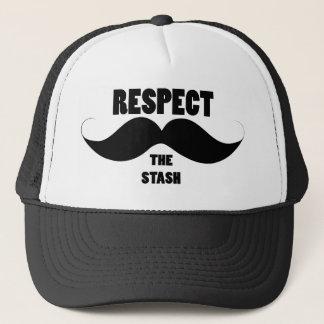 Boné Respeite o Stash