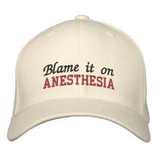 Boné Responsabilize-o na anestesia