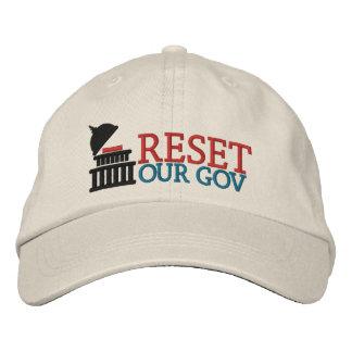 Boné Restaure nosso chapéu do logotipo do Gov