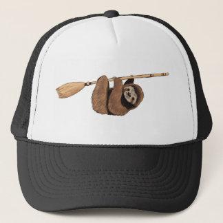Boné Retarde o passeio - preguiça na vassoura do vôo