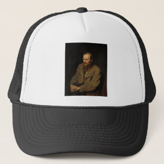 Boné Retrato de Fyodor Dostoyevsky por Vasily Perov