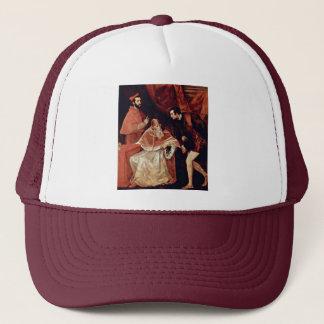 Boné Retrato do papa Paul Iii, Alessandro cardinal