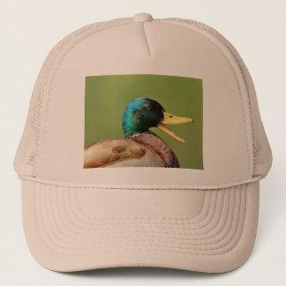 Boné retrato do pato do pato selvagem