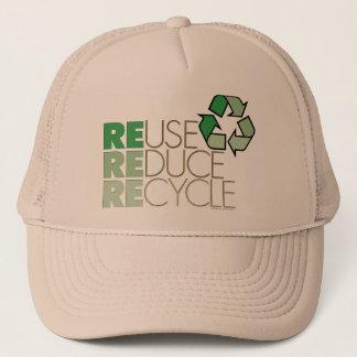 Boné Reusar, reduz, recicl o chapéu de Eco