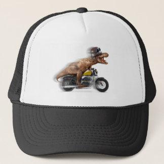 Boné Rex dos motocicleta-tiranossauros-t do rex de T -
