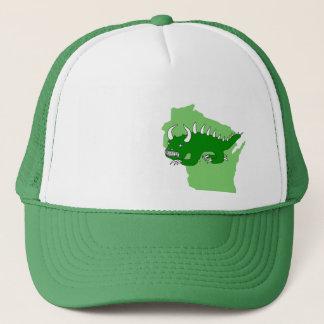 Boné Rhinelander retro Hodag e chapéu de Wisconsin