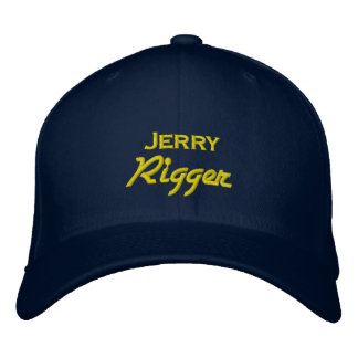 Boné Rigger engraçado de Jerry