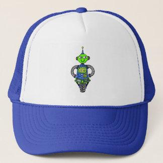 Boné Robô, azul e verde de Arnie