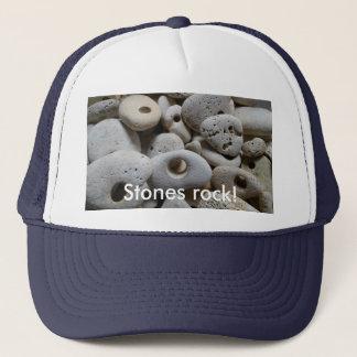 Boné Rocha das pedras! Divertimento e na moda legal
