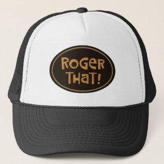 Boné Roger isso!