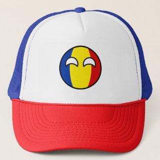 Boné Romania Geeky de tensão engraçado Countryball