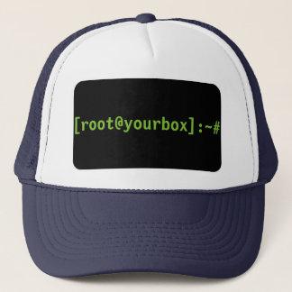 Boné [root@yourbox]: chapéu do ~#