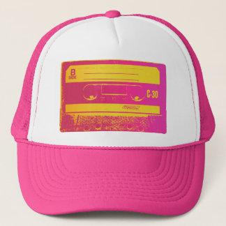 Boné Rosa & amarelo da cassete de banda magnética